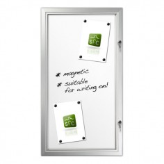 Magnetic Locking Noticeboard 6 x A4
