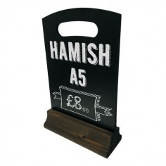Hamish A5 Table Top Chalkboard
